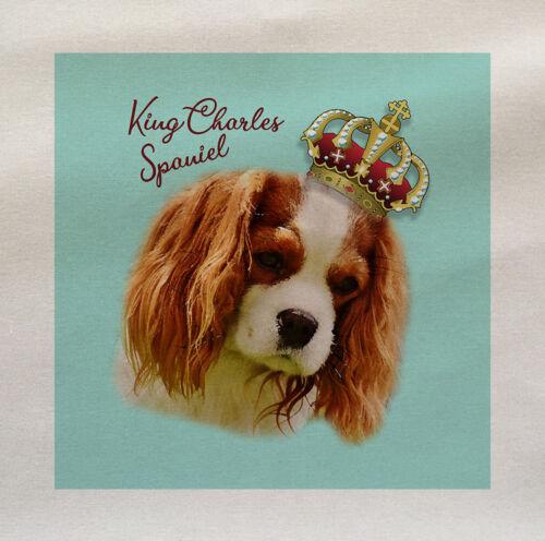 Dog King Charles Spaniel Cotton Fabric Panel Make A Cushion Upholstery Craft
