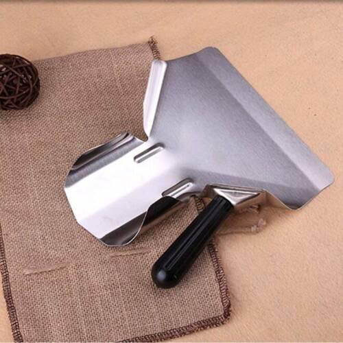 Details about  /Multifunction Handle Metal Chip Shovel French Fries Shovel Scoop Supplies QK
