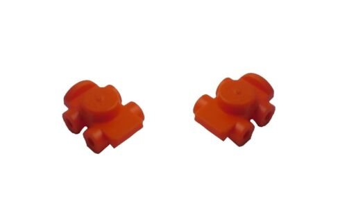 Lego 2 Rollschuhe in orange 11253 Roller Skate Neu