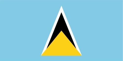 Lucia lfd0174 des autocollants sticker drapeau drapeau pays St