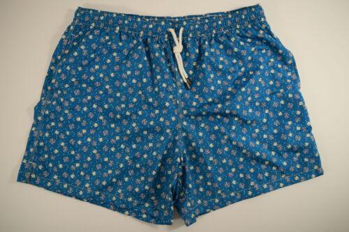 FEDELI boxer da BAGNO uomo MARE costume SHORTS swimwear PANTALONCINO microfibra