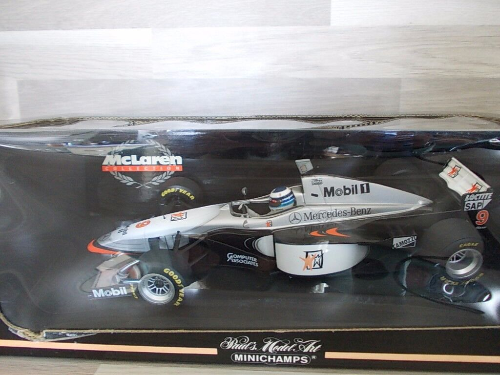 MiniChamps 1 18 - McLaren Col -  F1 McLaren Mercedes MP4 12  9 M. Hakkinen  acheter des rabais