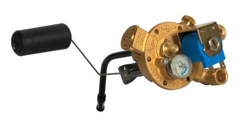 Aldesa Multiventil für 200mm Radmuldentank 30° komplett mit Sensor A20030