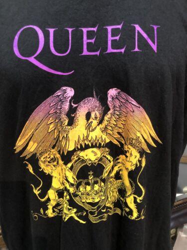 Queen Freddie mercury black 2XL T shirt Brian May