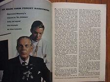 June 16, 1962 TV Guide(RAYMOND  MASSEY/DIANA  MILLAY/PAUL  ANKA/DR.  KILDARE)