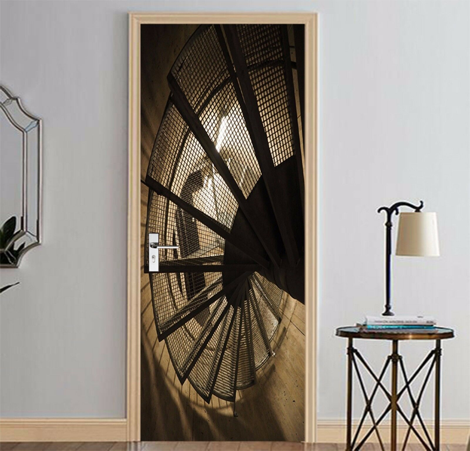 3D Muster 764 Tür Wandmalerei Wandaufkleber Aufkleber AJ WALLPAPER DE Kyra