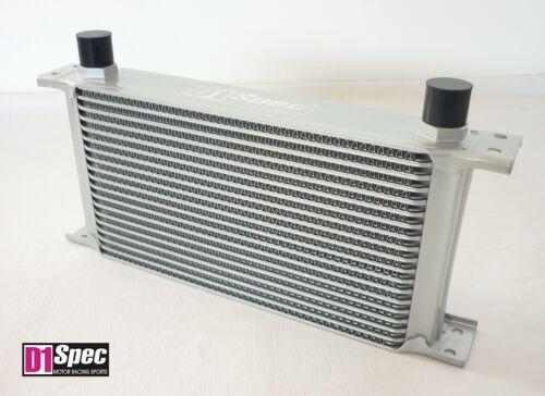 D1-SPEC 19-Reihen Ölkühler 175mm Kühlkörper Kühler universal AN10 Dash oil coole