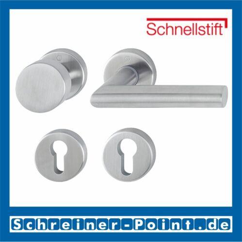 Hoppe Amsterdam Stainless Steel f69 Rosette e58//42kv//42kvs//1400z Removable Set WG we