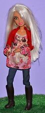 """SPIN MASTER LIV FIRST WAVE ALEXIS IN BLONDE WIG MULTI JOINTED 12"""" DOLL"""