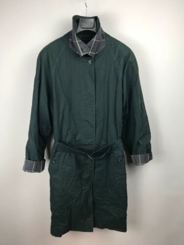 Medium Burberrys Green London M England Kort Autentisk Vintage Uk10 Us8 Coat RZC0dwCWrn