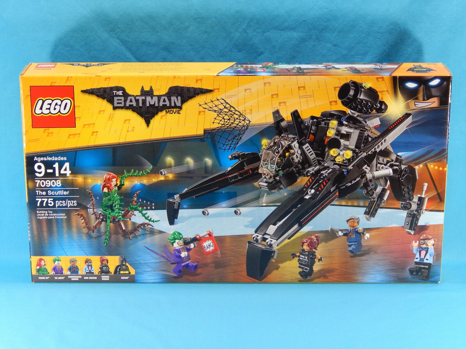 Lego The Batman Movie 70908 The Scuttler 775pcs New Sealed 2017