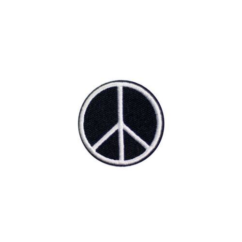 White Peace Embroidery Applique Patch Sew Iron Badge Iron on