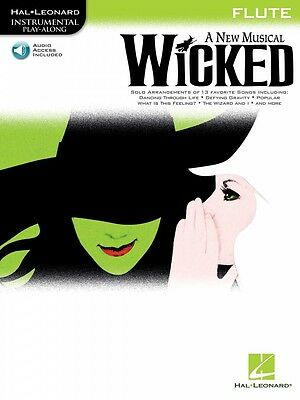 Wicked Instrumental Play-along Book With Online Audio Instrumental 000842236 Large Assortment Musical Instruments & Gear Wind & Woodwinds