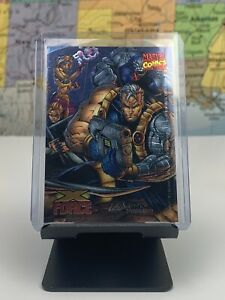 SHIPS-SAME-DAY-Marvel-Comics-Card-X-Force-Young-Blood-Wizard-Promo-Holo-6-1996