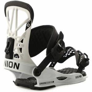 Union-bindings-flite-pro-white-2020-attacchi-snowboard-new-m-l-all-mountain-f