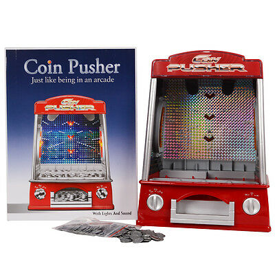 Novelty Fairground Coin Pusher Arcade Game Penny Falls ...