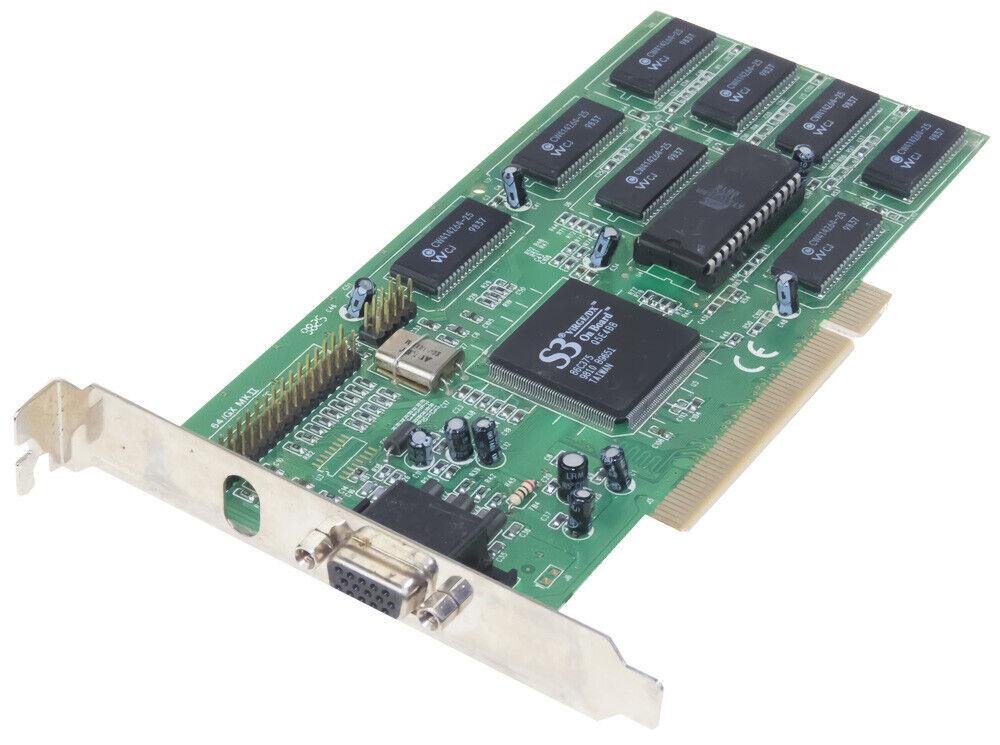S3 64/GX MK II PCI 4MB GRAPHICS CARD