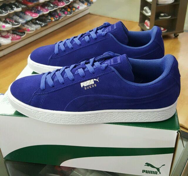 PUMA Mens Suede Classic Debossed Q3 Fashion Sneaker Mazarine Blue 10 ... deace26fd