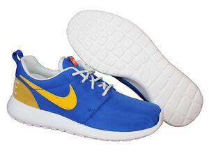 Sneaker Blau One 38 Neu Retro Gr Schuhe 39 gelb Sportschuhe Roshe Nike YUAwxtq
