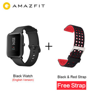 Smartwatch Xiaomi Huami Amazfit Bip Reloj ENGLISH Version GPS+Correa libre