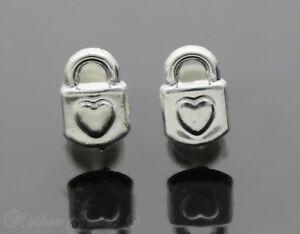 Love-Padlock-Hypo-allergenic-Silicone-Silver-Enamel-Earrings-Ladies-Girls-Studs