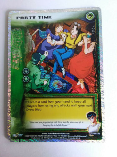 Yu Yu Hakusho TCG CCG Party Time S106//176 1st Edition Ghost Files Card