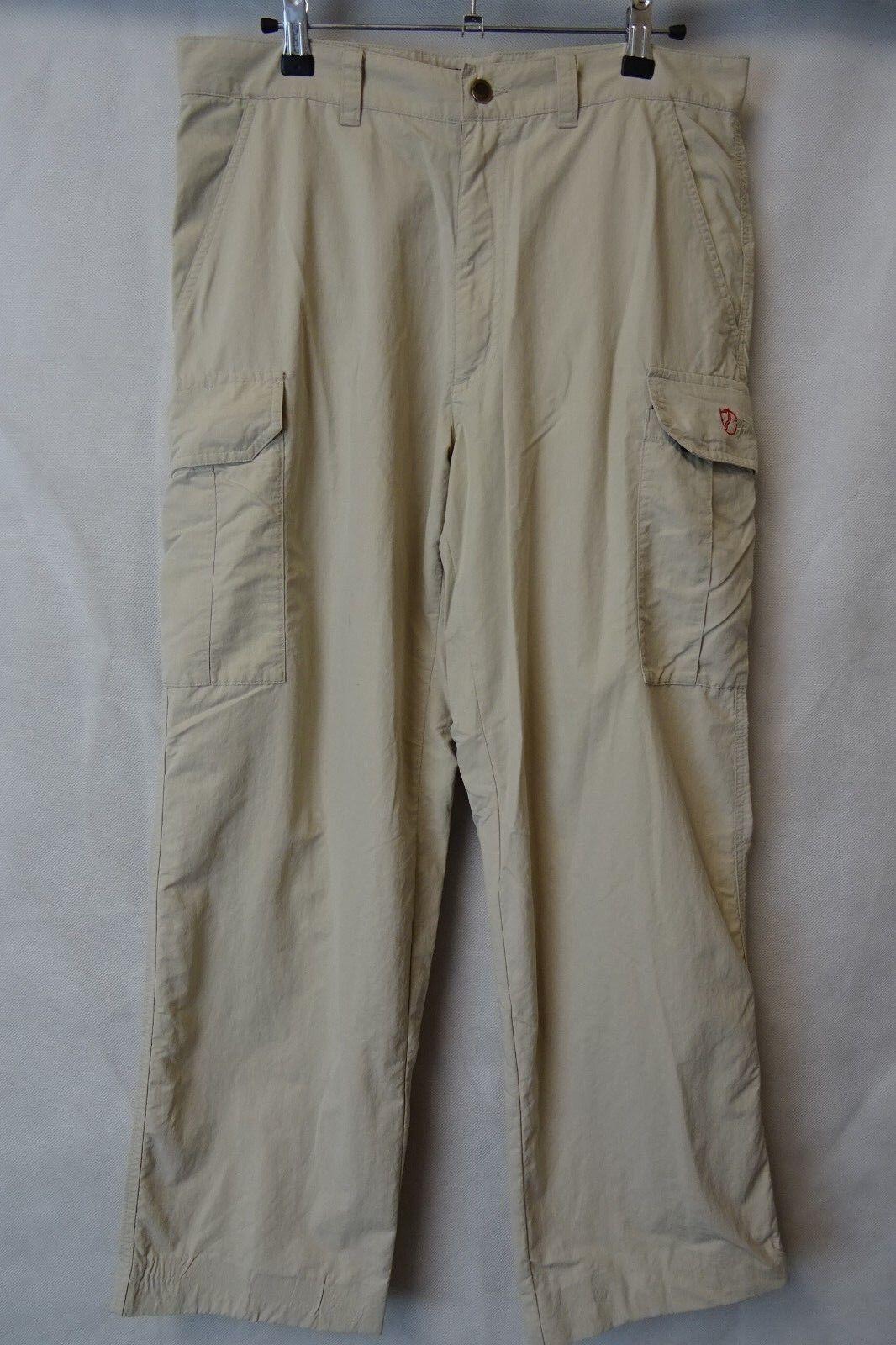 Men's Fjallraven Outdoor Trousers Trekking Combat Size W32 L27 AA2532