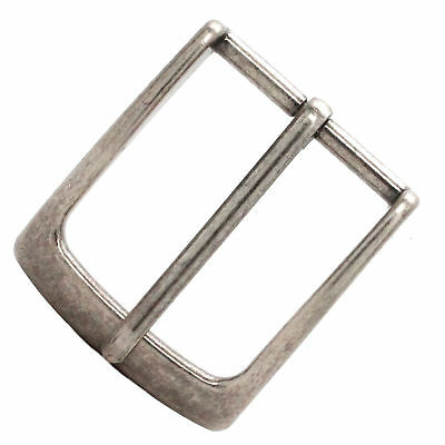 "Clipped Corner Belt Buckle Antique Nickel 1-1//2/"" 1587-21"