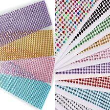 Decal Art Scrapbooking Emulation Diamond Crystal Bling Rhinestone Stickers