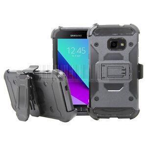 Pour-Samsung-Galaxy-Xcover-4-A10e-Note-8-Armure-etui-Coque-Antichoc-Clip-Cover