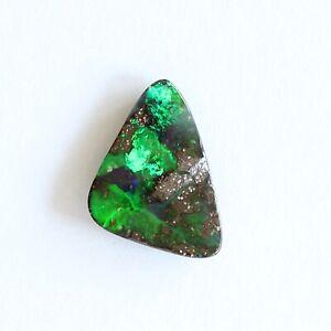 Boulder-opal-5-23ct-16-x-11mm-Natural-solid-Australian-opal-loose-stone-green