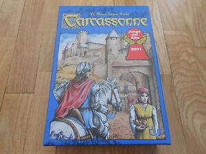 juego de mesa CARCASSONNE caja básica - DEVIR - estrategia