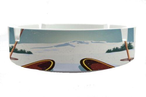 Ashtray Fun  Ski printed