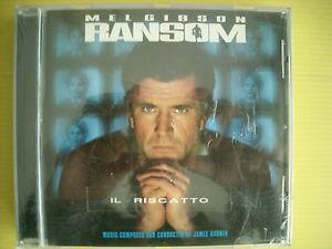 CD-RANSOM-IL-RISCATTO-JAMES-HORNER-MEL-GIBSON-SOUNDTRACK-SIGILLATO-SEALED-1996