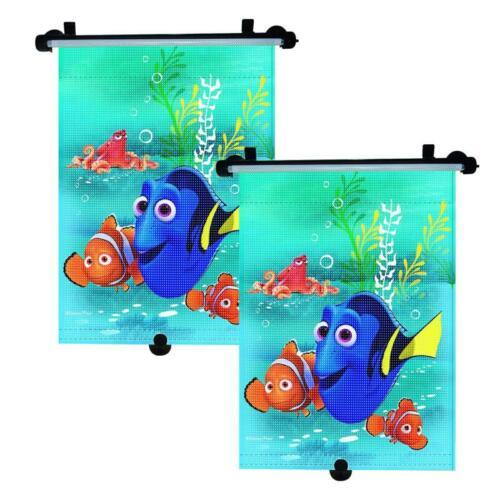 2x Dorie Nemo Auto Sonnenschutz Rollo Kinder Seitenschutz Sonnenblende universal