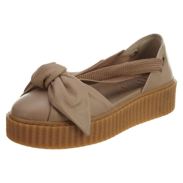 Damen PUMA FTY Bow Creeper Sand Sneaker braun 38