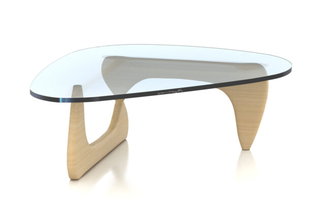 Exceptionnel Herman Miller Noguchi Coffee Table White Ash Base