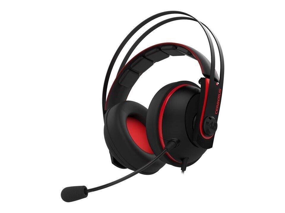 Headset, Asus Cerberus V2 rød, Perfekt
