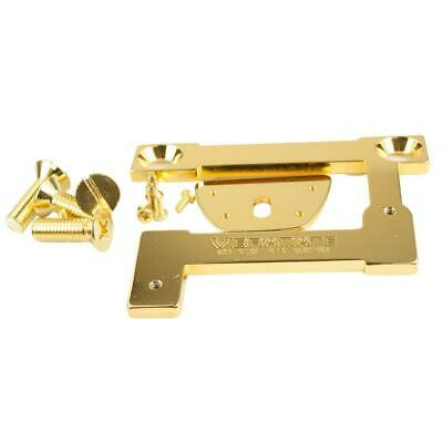 "Vibramate V7-335 Model E-Series 8.0/"" Archtop Quick Mount Kit Gold"