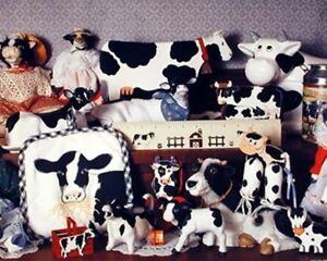 Farmyard decor | Etsy |Holstein Cow Decorations