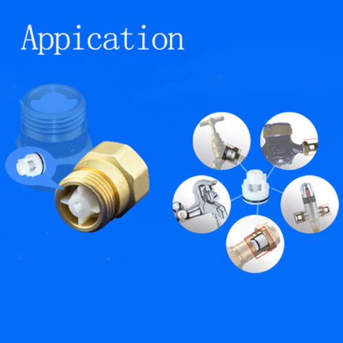 Water Check Valve Non Return Shower Head Connector Valve  One Way Water Control