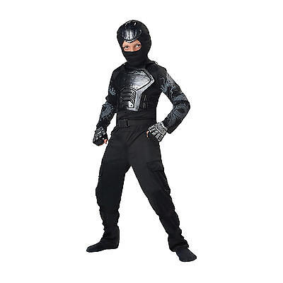 New Blue Ninja Totally Ghoul Halloween Costume