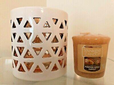 Yankee Candle Belmont Ceramic Votive Tealight Holder W Bonus New Stunning Ebay