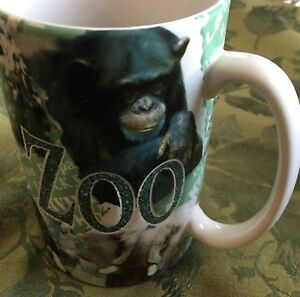 Details about Americaware Ceramic MUG Knoxville Zoo TN Penquins Billco  Bears Monkey Giraffe