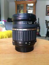 Tamron SP A016 17-50mm f/2.8 Di-II LD XR Aspherical IF AF Lens Nikon