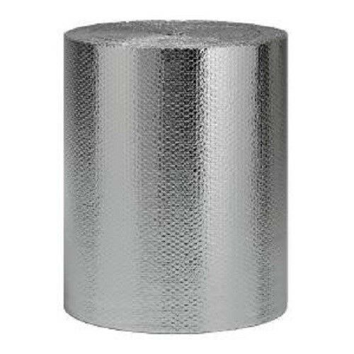 "270sqft NASATECH 36/"" x 90/' Reflective Bubble Foil Insulation Vapor Barrier r8"