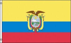 cc8be8d1919 Details about 3 x5  Ecuador Flag Ecuadorian Outdoor Indoor Banner Central  America Country 3x5