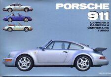 Porsche 911 Carrera 2 Carrera 4 Carrera RS & Turbo - out-of-print history book!