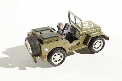 Dynamisch Blechspielzeug Jeep Dodge Willys Jeep °° Tin Toy °° Arnold Replika Entlastung Von Hitze Und Sonnenstich