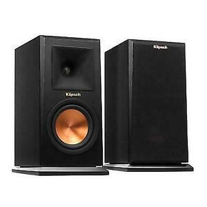 Klipsch Rp-150m Studio Monitor Speaker Pair Ebony 75w